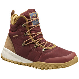 Columbia Fairbanks Omni-Heat - Chaussures Homme - marron/rouge